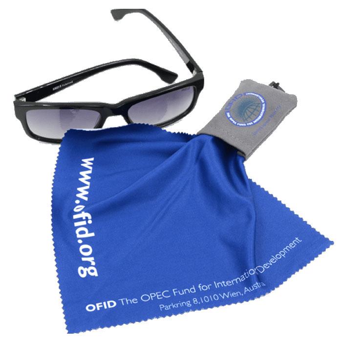 Custom Lens Cloth - Printed Lens Cloth - Glasses Pouches