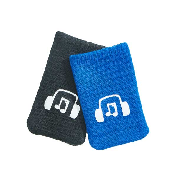 Mobile Socks - printed microfibre bag